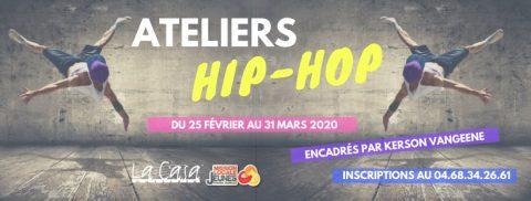 Ateliers Hip-Hop avec Kerson Vangeene