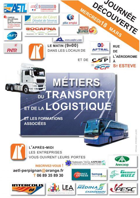 Journée découverte des métiers du Transport et de la Logistique